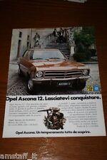 AD6=1972=ASCONA 12 OPEL GM=PUBBLICITA'=ADVERTISING=WERBUNG=
