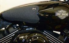 Harley Street 750 2016 R&G Racing Tank Traction Grip Pads EZRG1200BL Black