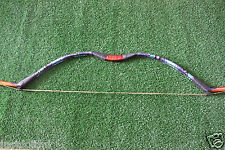 40lbSnakeskin Purple Recurve Bow Archery Handmade Traditional Wooden Bow Hunting