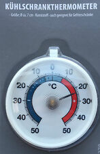 Kühlschrankthermometer 7cm Thermometer Außenthermometer Zimmerthermometer