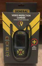 PalmScope Compact Inspection Video Camera Fiber Optic 2x Digital Zoom Black
