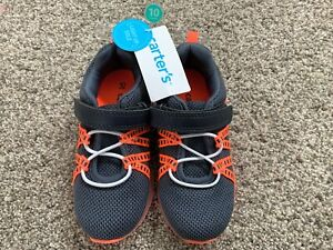 Carters Toddler Boys Light Up Sneakers Size 10 LEFT SHOE DOES NOT LIGHT UP