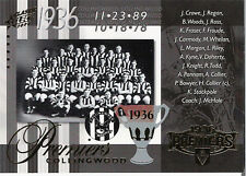 2008 AFL Classic Draft Pick Platinum Signature DPP12 Cyril Rioli (Hawthorn)