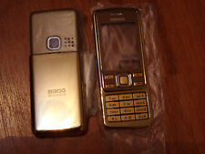 NEW - NEU - Nokia 6300 Komplett Cover Set Gold