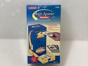Lakeshore Education Vowel Sounds Toy Magic Answer Machine Learn Slot Machine