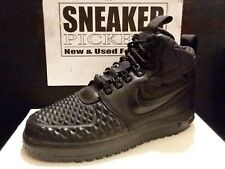 Nike Lunar Force 1 '17 Duckboot  - 916682 002 - Black / Black - Size: 8.5 - New!