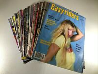 Huge Lot of 21 Easyriders Magazine 1980s 90s 2000s No Centerfolds Bonus Daytona