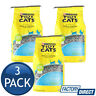 3 x PURINA TIDY CATS LITTER NON-CLUMPING CLAY LITTER ODOUR TRAP CONTROL 4.54kG