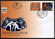 4539 Serbia and Montenegro 2004 Olympic Games Athens FDC