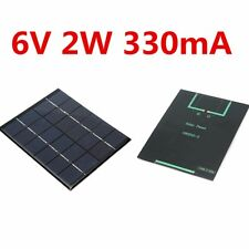 Solar Panel Module for Light Battery Cell Phone Charger Portable 6V 2W DIY