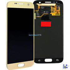 Para Samsung Galaxy S7 G930F pantalla lcd táctil display touch screen  oro+cover