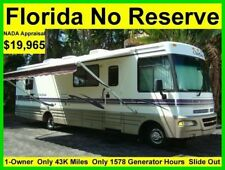 NO RESERVE 1998 WINNEBAGO CHIEFTAIN 33FT SLIDE OUT CLASS A RV MOTORHOME CAMPER