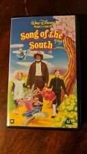 VHS-WALT DISNEY CLASSICS SONG OF THE SOUTH RARE BLUE CASE TAPE SEALED,NEW