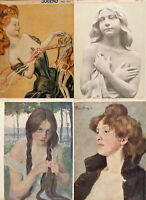 417 ISSUES OF JUGEND VINTAGE GERMAN ART NOUVEAU MAGAZINE JUGENDSTIL VOL2 ON 2DVD