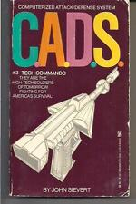 C.A.D.S. #3 TECH COMMANDO ~ ZEBRA 1986 JOHN SIEVERT ~ SOLDIERS OF TOMORROW
