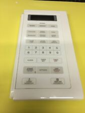 Whirlpool Microwave Oven Touch Pad  8183790 8172128 bisque biscuit used