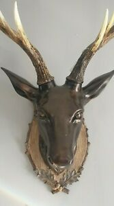 FLASH SALE!! Large Wall Mounted Traditional Stag Head Décor Wall Art Deer Head