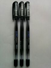 3 X 0.5 mm Fine Tip Ball Pen Black Colors Wallet Pack Set 3 for School Office
