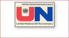 USA1419 25th anniversary of the United Nations 1 pc
