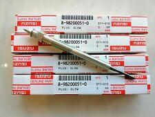 4X ISUZU D-MAX GLOW PLUG  2012-2018 4JJ1 3.0 GENUINE PARTS