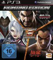 SONY PS3 Fighting Edition: SoulCalibur V / Tekken Tag Tournament 2 / Tekken 6