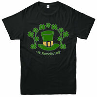 ST Patrick's Day T-Shirt, Irish Ireland Green Hat Festival Gift Adult & Kids Top