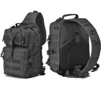 20L Military Tactical Assault Pack Sling Backpack Army Molle Rucksack Hiking Bag
