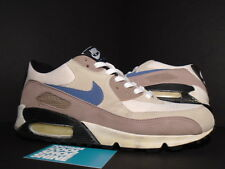 2003 Nike Air Max 90 ESCAPE 2 WHITE BLUE SLATE ROPE BISQUE BROWN 305209-141 10.5