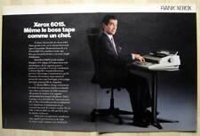 Publicité Papier - Machine À Écrire Rank Xerox 6015 De 1986
