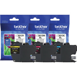 Brother MFC-J497DW (LC3013) High Yield Ink Set - C/M/Y (400 Yield)
