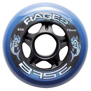 Base Inline Outdoor Rollen Rage II 4er Set 71507 83A diverse Größen