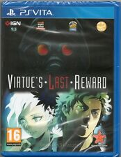 ZERO ESCAPE: virtù LAST REWARD GIOCO PS Vita Sony (Virtù) ~ nuovi/sigillati