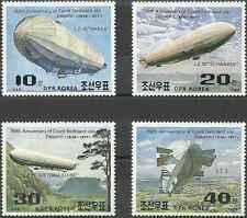 Timbres Dirigeables Corée 1986/9 ** lot 9621