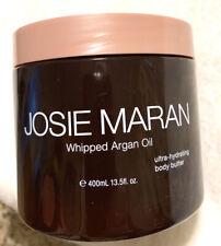 Josie Maran Whipped Argan Oil Body Butter 400 ml/13.5 oz UNSCENTED