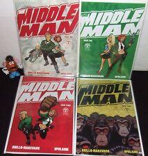 "MIDDLE MAN THE 1st MINI SERIES SET #1 2 3 4 VIPER 2005 ""FIGHTING EVIL""  ave NM-"