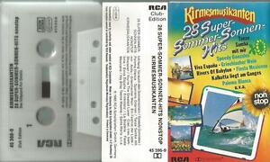= t MC Kassette Kirmesmusikanten 28 Sommer Sonnen Hits Tanze Samba mit mir