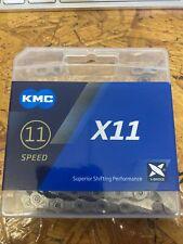 Kmc X11 Chain - 11 Speed - 118l - Grey New Mtb Road