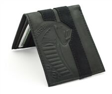 Shelby Super Snake Cobra Leather Wallet With Alcantara Stripe Ford Mustang SVT