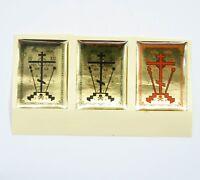 2 Blessing Sticker for Home Kreuz das Etikett Крест Наклейка Для Освящения Дома