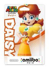 Nintendo Amiibo Super Mario series Daisy Wii U 3DS Figure Japan