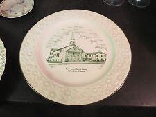 Tenth Avenue Baptist Church Birmingham Al Souvenir Plate (New Church)