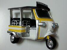 Tuk Tuk Taxi Car Old Thailand Holiday 3D Fridge Magnet Holiday Famous Bangkok
