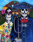 Mex Am Gothic by Melody Smith Giclee Fine Art Print Poster