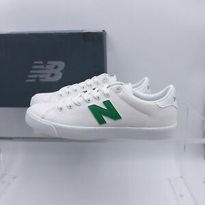 Size 14 Men's New Balance All Coasts 210 Skate Sneakers AM210WSS White/Green
