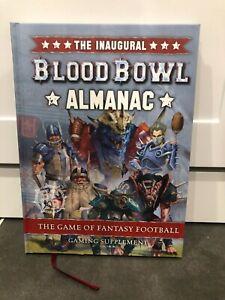 Blood Bowl Inaugural Almanac