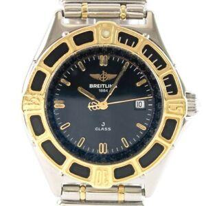 Breitling Uhr Lady J gebraucht Quarz Ref. D52063