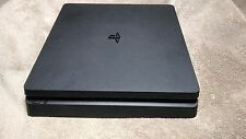 Sony PS4 PlayStation 4 Slim Console Only Black For parts or repair