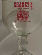 Vintage Rare Giovanni/'s Pizza Heavy Weighted Bottom Drinking Glass