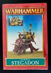 GW Warhammer Fantasy Lizardmen Stegadon Classic Seraphon Metal Sealed Box