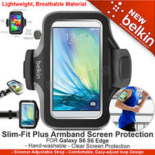 Belkin Slim-Fit Plus Armband Screen Protection HandWashable Galaxy S7 S6 S6 Edge